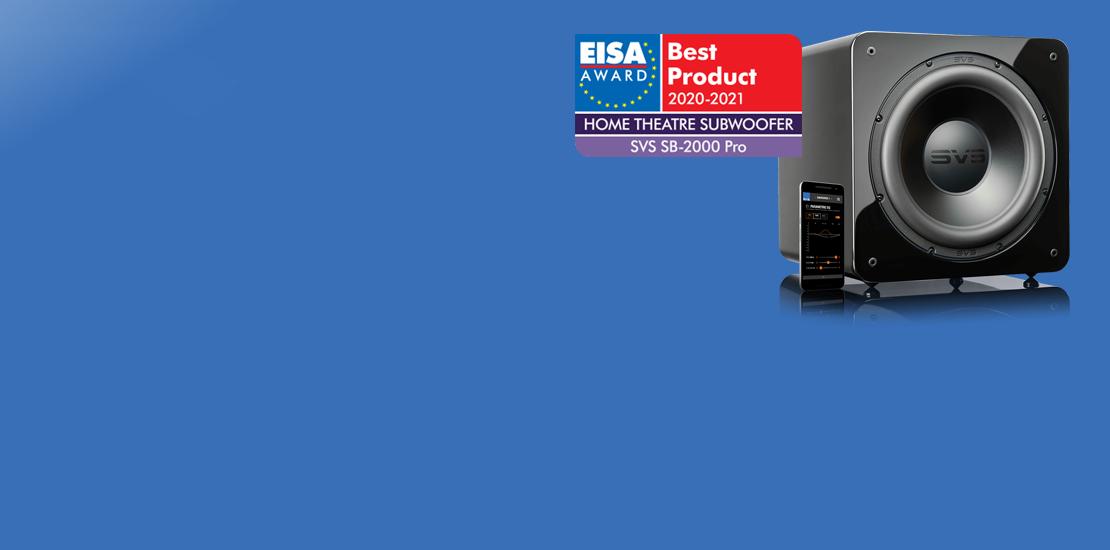 SVS remporte l'EISA Award 2020-2021
