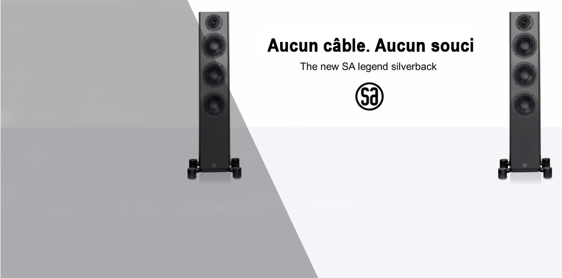 Enceintes passives et actives SYSTEM AUDIO